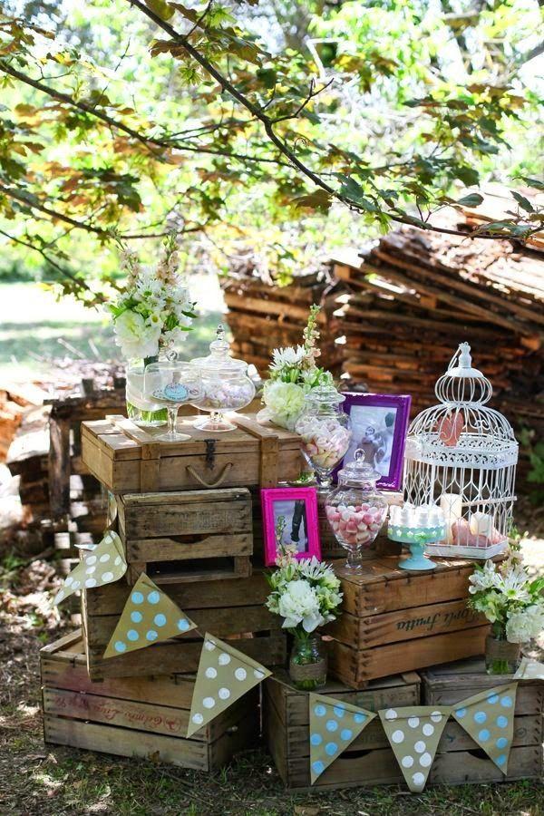 Bodas Cucas: Cajas de madera para decorar tu boda