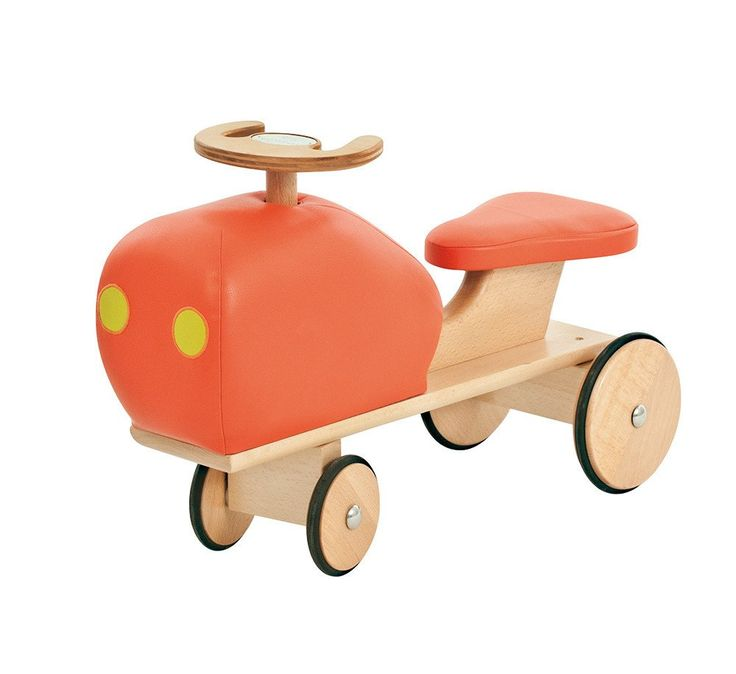 Wooden Tractor Les Cousins