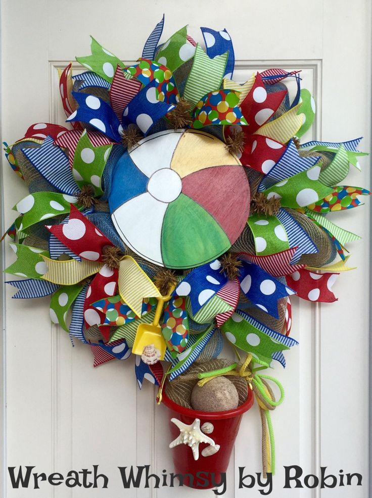 Do It Yourself Home Design: 28 Best Images About Beach/Nautical Wreaths On Pinterest