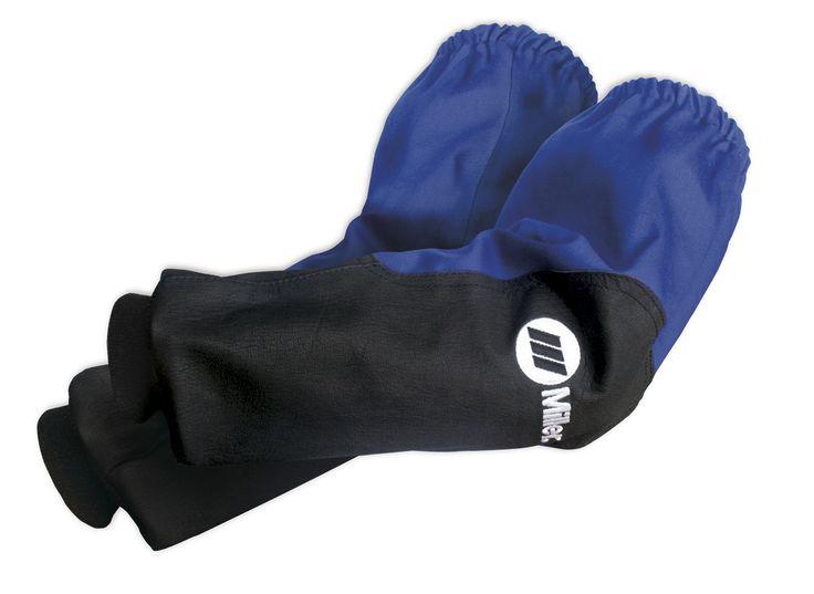 Miller Welding Sleeves - INDURA® Cotton & Pigskin Leather 231096