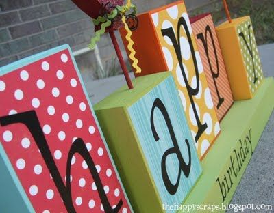 need to recreate and decorate the week (or month) of a kids' birthday