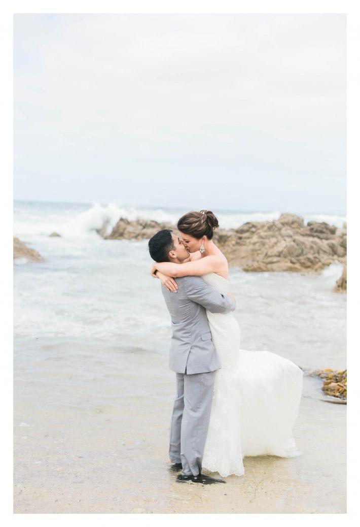 erica houck photography california beach wedding asilomar