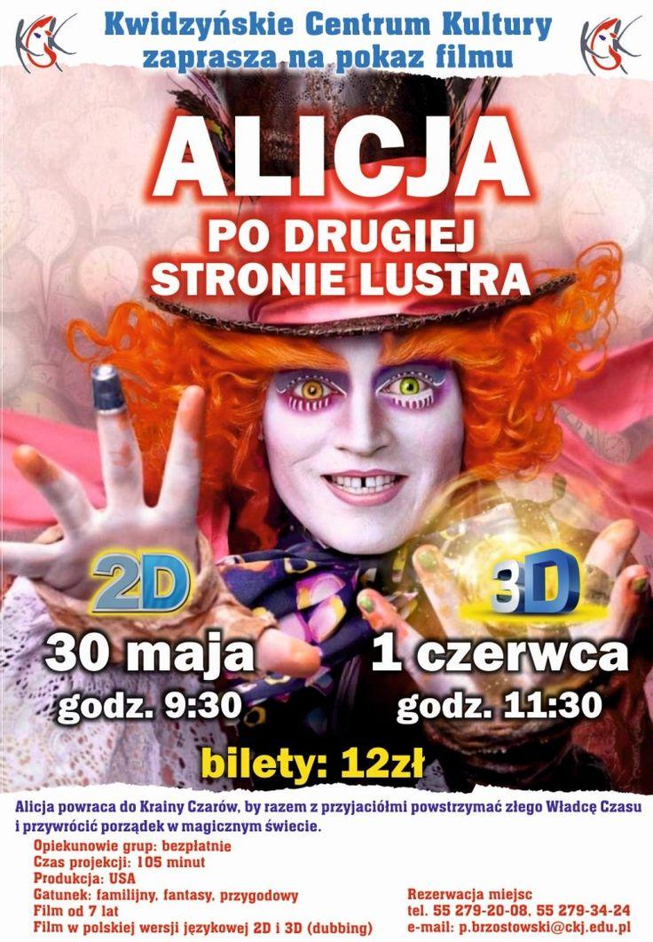 """""""Alicja. Po drugiej stronie lustra"""", 30.05.2016 r. i 1.06.2016 r."""