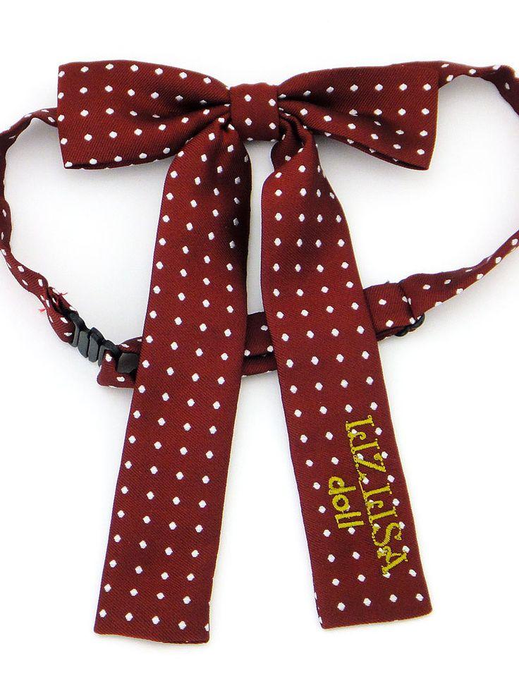 Aliexpress.com: Comprar Mujeres lindas de uniforme japonés JK corbata Bow Liz Lisa bordado larga Lolita Bow knot de arco amarillo fiable proveedores en Meow Girl