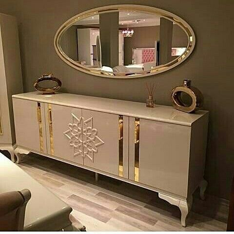 Luxury Credenza with modern colour. So perfect to complete your interior home