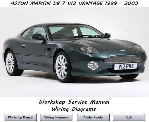 Aston Martin Db7 V12 Vantage 1999