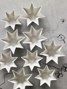 Christmas star, white | Xmas decoration . Weihnachtsdekoration . décoration noël | @ stilinspiration |