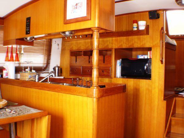 2000 Transpac 40 Eagle Trawler Yacht for sale.