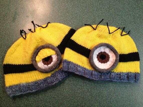 13 best despicable me crochet hat images on Pinterest | Crochet hats ...