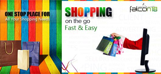 falcon18.com is an e-commerce portal, created to provide a hassle free experience for Indian community to avail products of all brands and commodities.