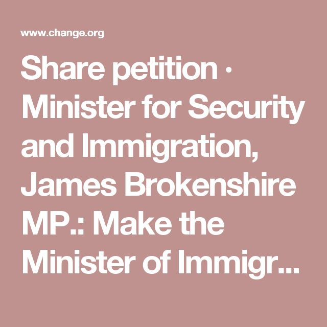 Share petition · Minister for Security and Immigration, James Brokenshire MP.: Make the Minister of Immigration reassess the case of Khushal, a heroic Afghan interpreter · Change.org