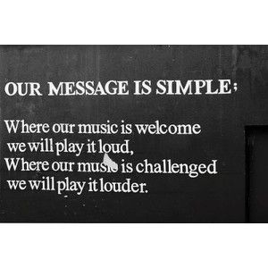 Loud music cures many ills, brings smiles and makes memories! Bring it!