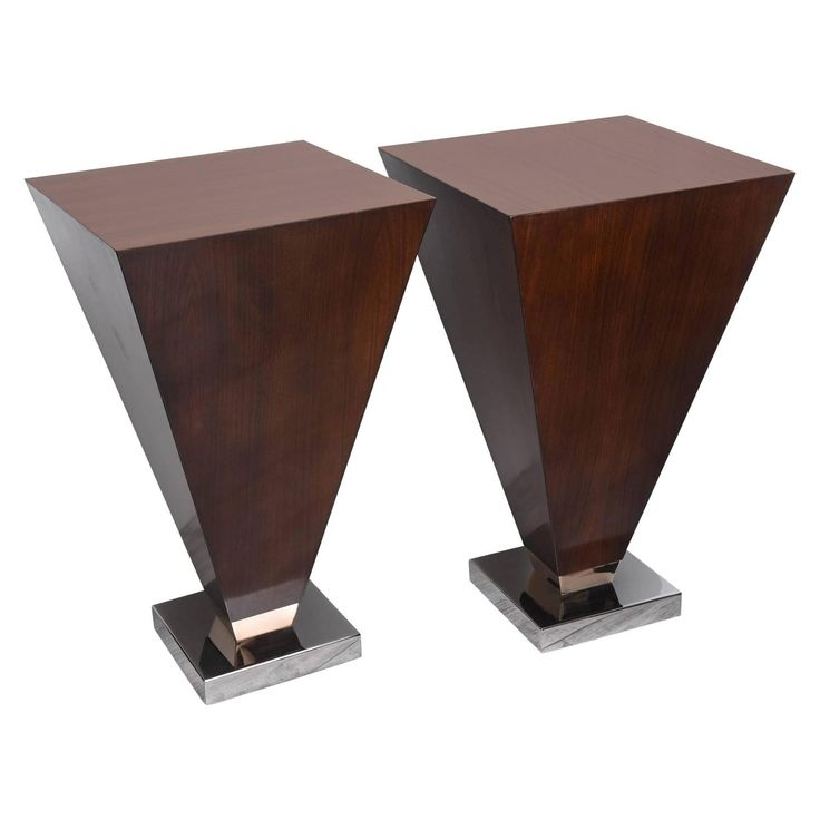 Pair Of Art Deco Style Side Tables. Vintage FurnitureArt Deco  FurnitureModern ...