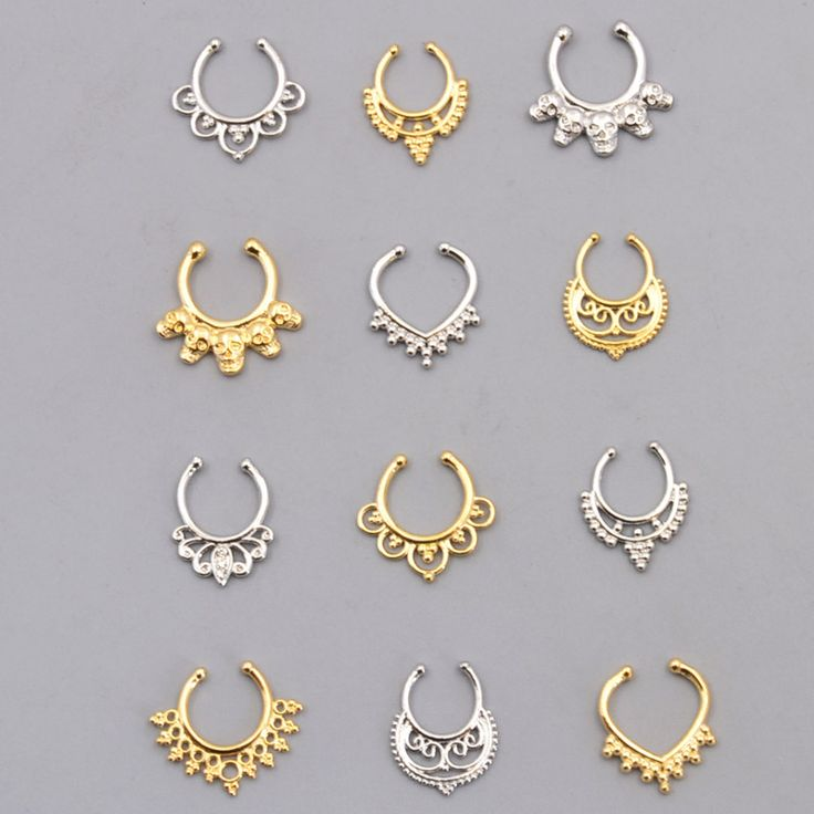 Fashion accessories jewelry New body Puncture rhinestone Copper Nose Rings & studs for women girl wholesale BN45