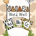 Included in this safari themed word wall labels are a label for letter of the alphabet, in lower and upper case. Also included are a set of vowel l...