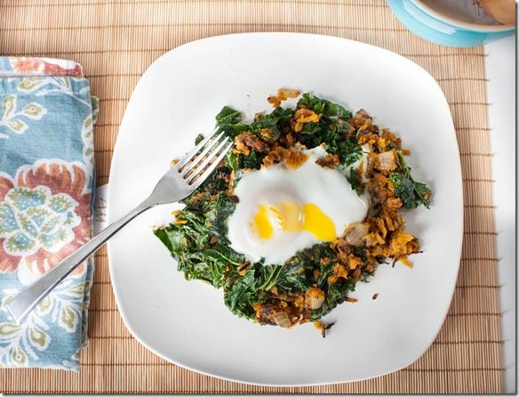 butternut squash + kale hash.  Must try right away.  Is it time for breakfast yet?