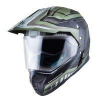 Κράνος Μοτοσυκλέτας MT Helmets Synchrony Duo Sport Tourer Χακί - Μαύρο