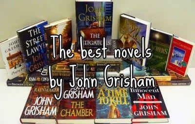 Best novels by John Grisham