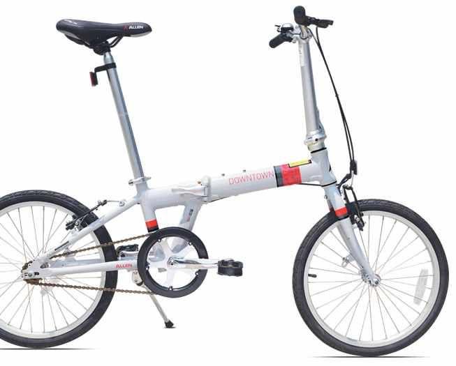 Allen Sports Downtown 1-Speed Folding Bike Review http://foldingbikeshq.com/allen-sports-downtown1-speed-folding-bike-review/  #allen #sports #downtown #1speed #allensportsdowntown #folding #bike #bicycle #foldingbike #foldingbicycle #review
