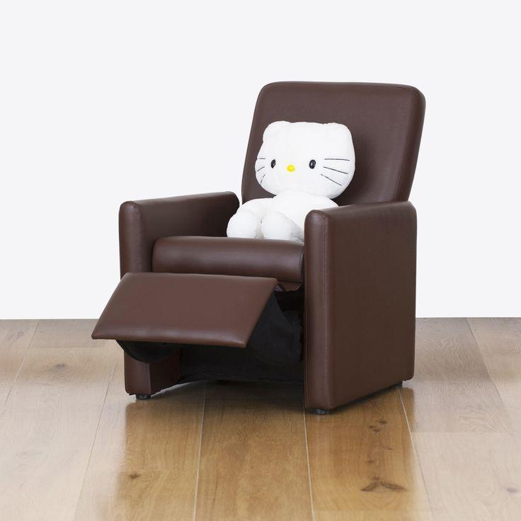 Watoto Kids Recliner Chair - Chocolate Brown   RP: $125.00, SP: $100.00