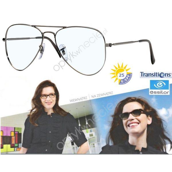 #RayBan #okulary korekcyjne:: #AVIATOR rb 6049 soczewki Transitions