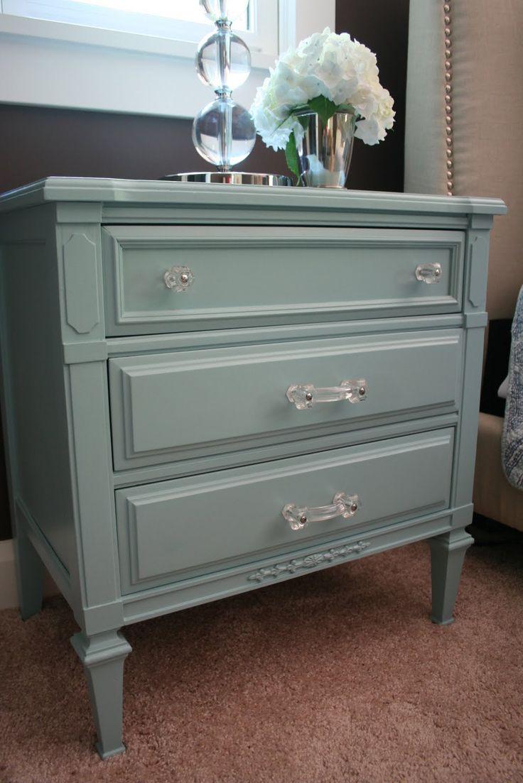 Best Nightstand Make Over Images On Pinterest Credenzas - Update old bedroom furniture