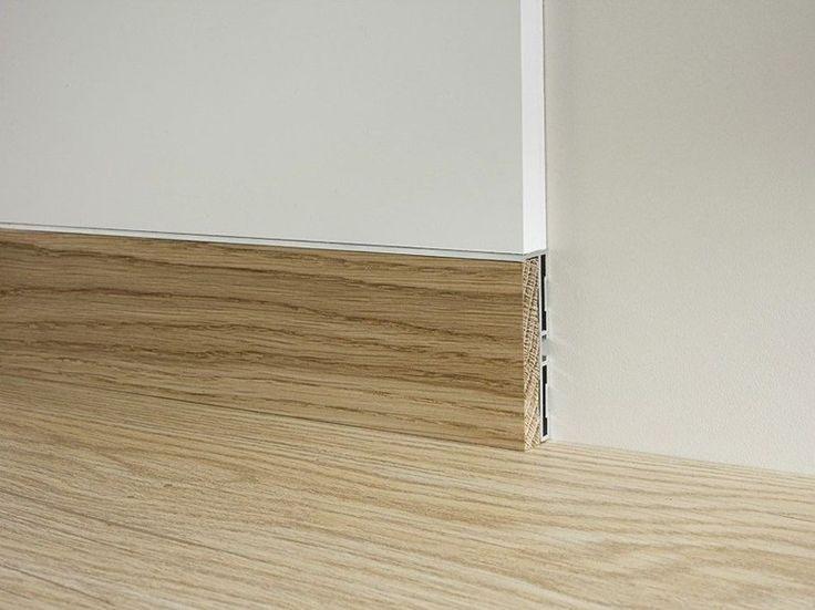Rodapiés de aluminio y madera METAL LINE 87/6 E 88/6 by PROFILPAS