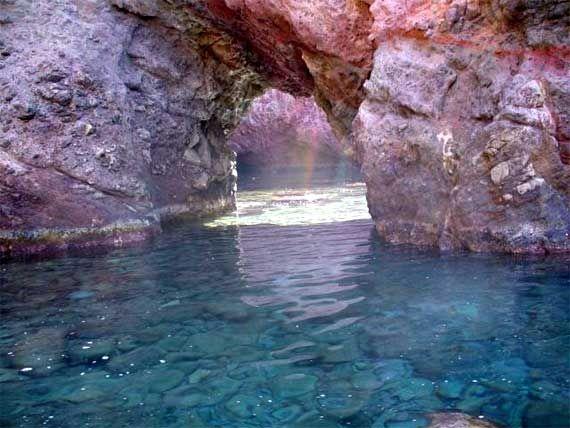 The beautiful #Capraia Island
