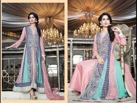 pakistani Fancy dresses 2017  for girls silver