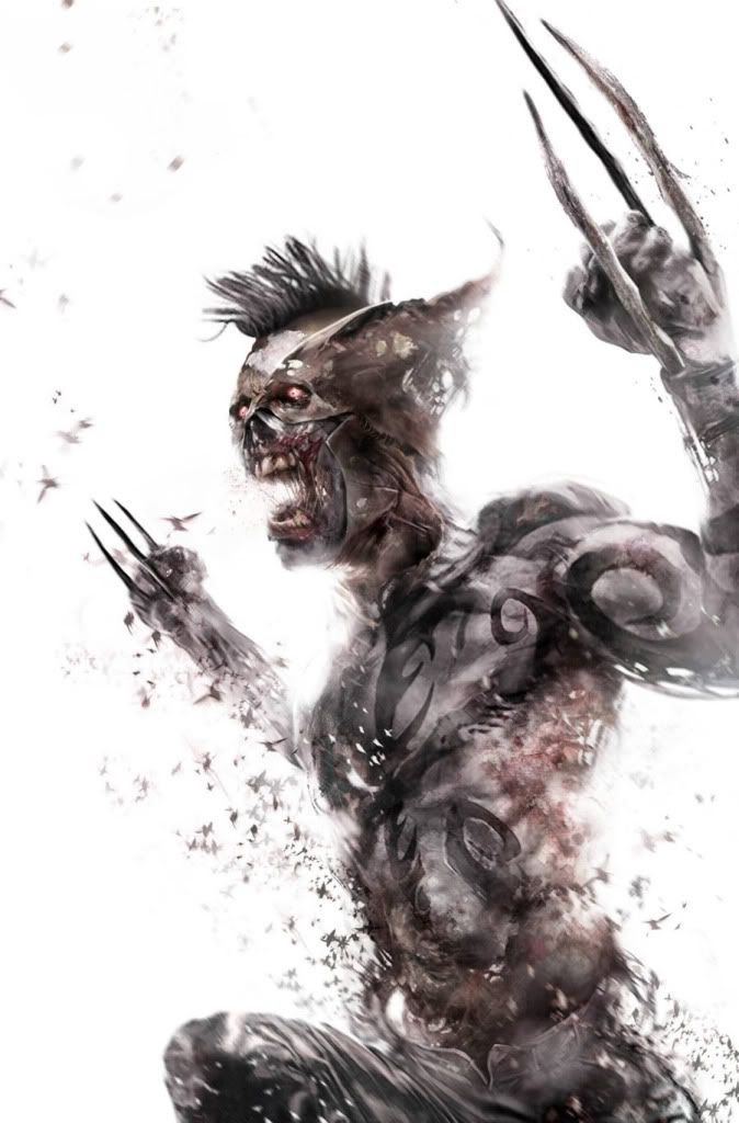 Marvel Zombies: Daken by Francesco Mattina