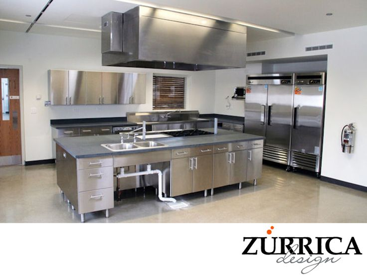 17 mejores ideas sobre cocinas industriales en pinterest - Planos de cocinas industriales ...