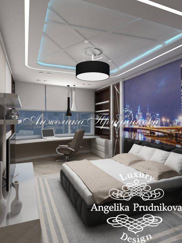 Интерьер квартиры в стиле модерн на Староволынской улице - фото