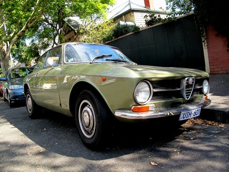 Alfa Romeo GT 1600 Junior (120BHP).  This is the same as my first Alfa. I later replaced my thrashed engine with the 1750 out of my brother's crashed GTV, along with its limited-slip diff. Later still, I robbed much of the electrics and hydraulics from it to restore my replacement (fire-damaged) 2000 GTV.