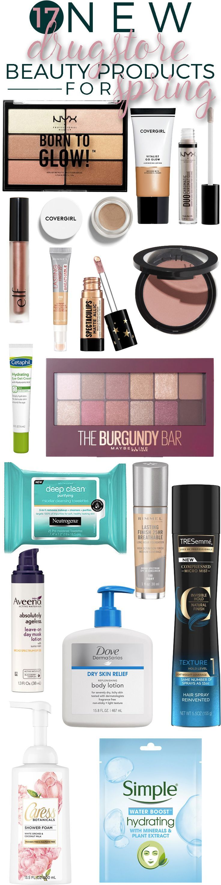 17 New Drugstore Beauty Products to Look for this Spring