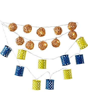 Rattan Ball String Lights Target : 17 Best images about Recycle: TIN CANS on Pinterest Owl, Coffee cans and Sodas