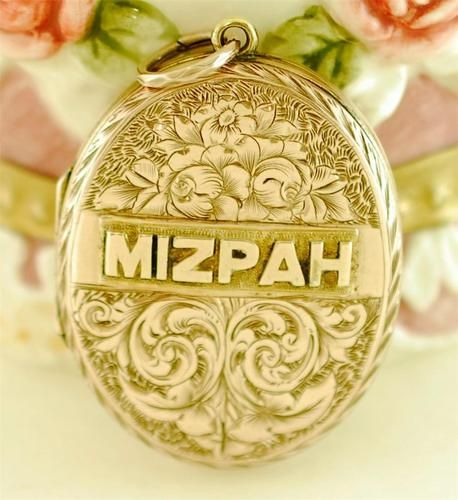 62 best mizpah jewelry images on pinterest victorian jewish exceptional victorian gold filled mizpah locket with incredible detailing ebay aloadofball Image collections