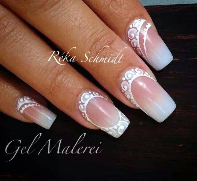 Wedding nail by Reka