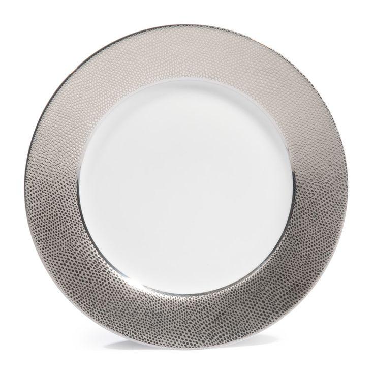 Supérieur Assiette Verte Maison Du Monde #6: Assiette à Dessert En Porcelaine Argent D 21 Cm | Maisons Du Monde