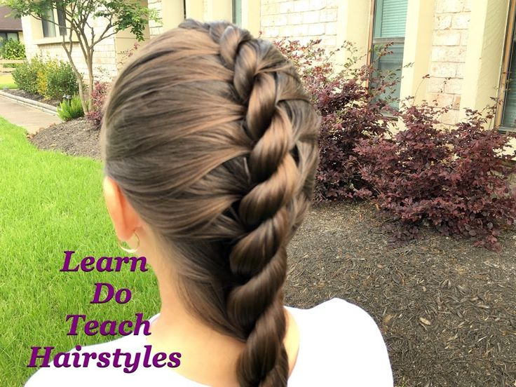 Rope Twist French Braid by LearnDoTeachHairstyles …