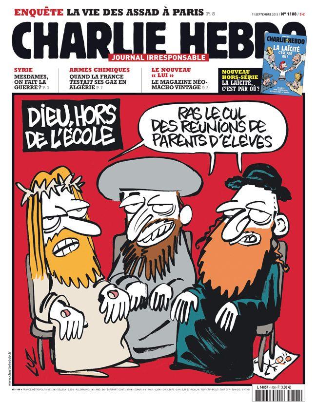 Charlie Hebdo, 11 septembre 2013