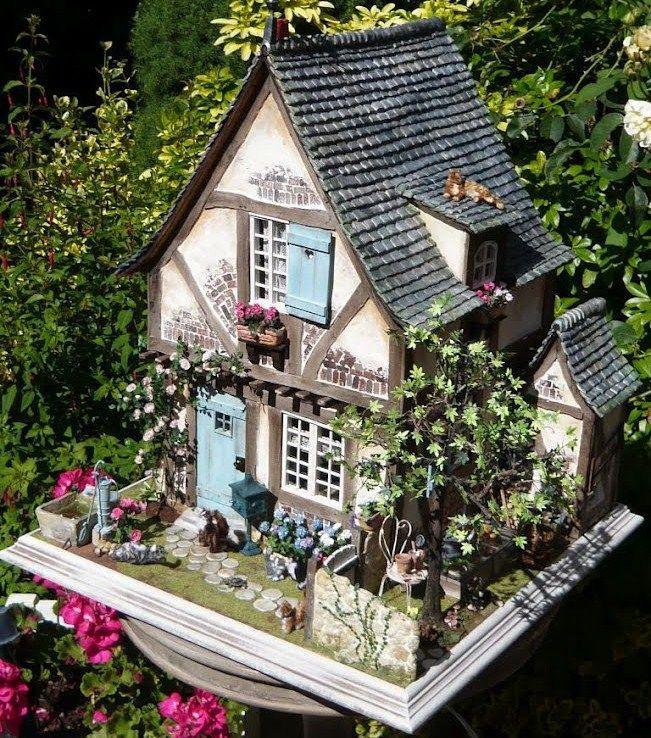 Ya me gustaría a mi tener una casita así