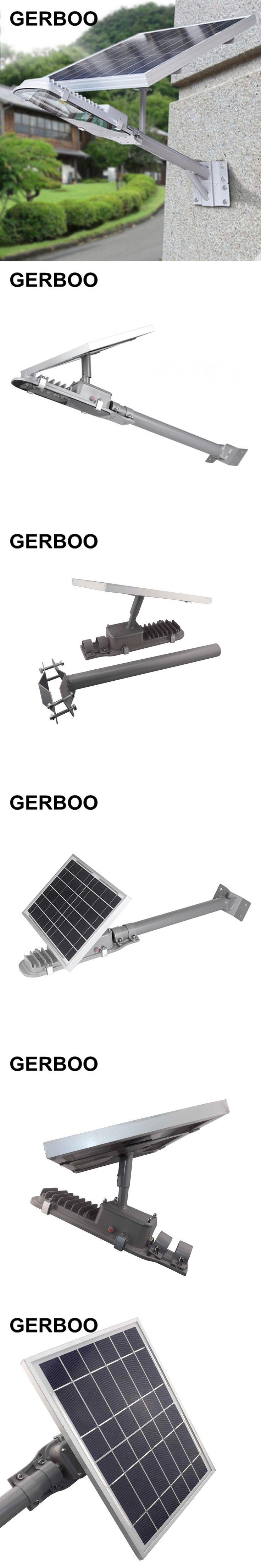 2016 NEW IP65 6V 10W Solar Panel Outdoor LED All-in-One Integrated Solar Street Light 600lm