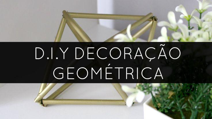 DIY Decoração Geométrica   Be Creative Be You