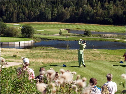 Losby GK, Norway. Fantastic Course with lots of water.