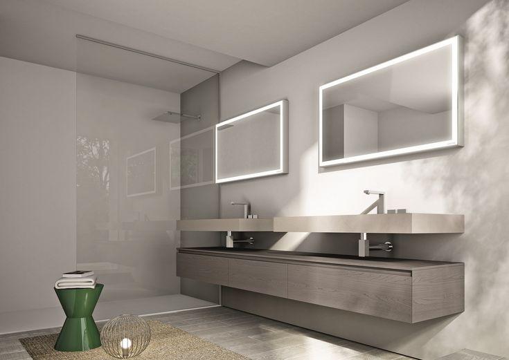38 best specchi bagno images on Pinterest | Bathrooms, Circle ...