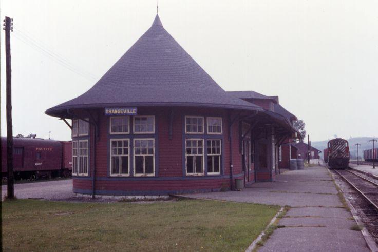 CPR Orangeville Station - 1977
