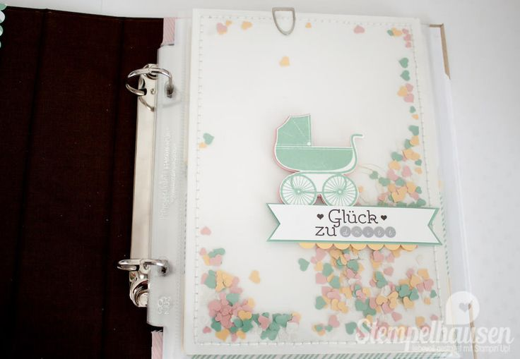 Stampin' Up! Project Life Album Baby Girl 26