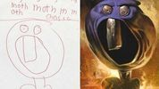 Good article:  Killing Creativity: Why Kids Draw Pictures of Monsters and Adults Don't