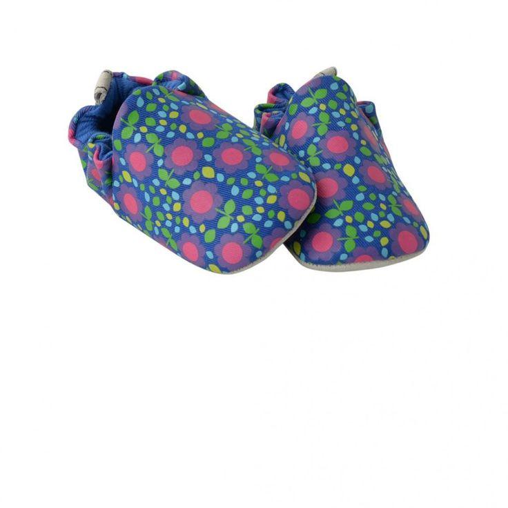 Mini Shoes - 60s flowers