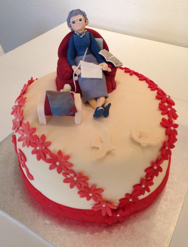 Svigermors 80 års fødselsdags kage